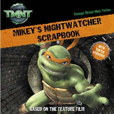 Mikey's Nightwatcher Scrapbook
