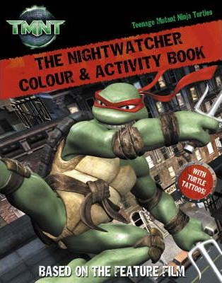 The Nightwatcher: Colour and Activity Book with Tattoos