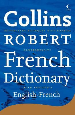 Collins Robert Comprehensive French Dictionary Volume 2 English-French Third Edition