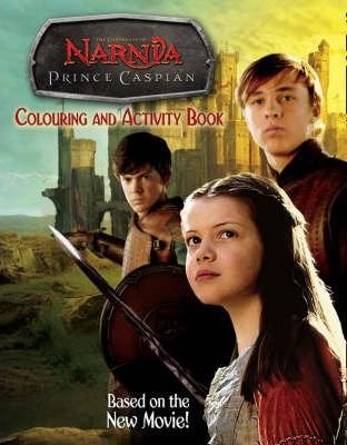 """Prince Caspian"" Colouring and Activity Book"