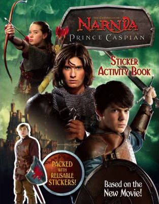 """Prince Caspian"" Sticker Activity Book"