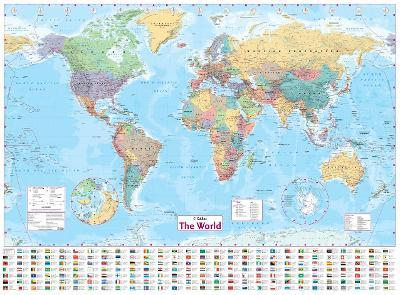 The World Wall Paper Map
