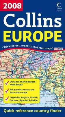 2008 Map of Europe 2008