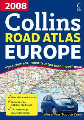 2008 Collins Road Atlas Europe 2008