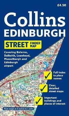 Edinburgh Streetfinder Map