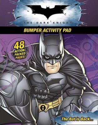 """Batman - the Dark Knight"" - Bumper Colouring and Activity Pad"