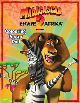 """Madagascar: Escape 2 Africa"" - Colouring Poster Pad"