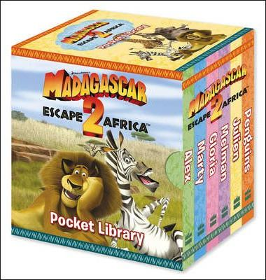 """Madagascar: Escape 2 Africa"" - Pocket Library"