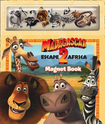 """Madagascar: Escape 2 Africa"" - Magnet Book"
