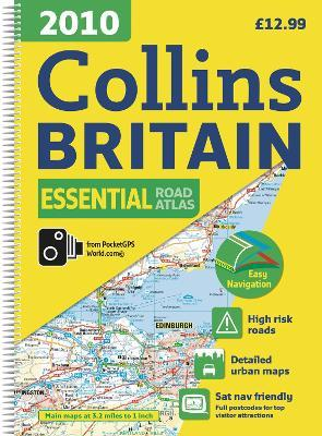 2010 Collins Essential Road Atlas Britain