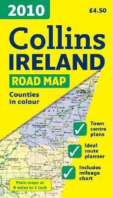 2010 Collins Map of Ireland