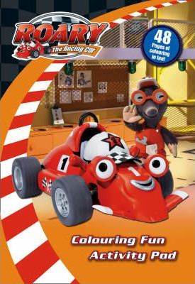 """Roary the Racing Car"" - Colouring Fun Activity Pad"