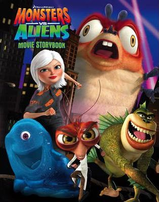 """Monsters vs Aliens"" - Movie Storybook"
