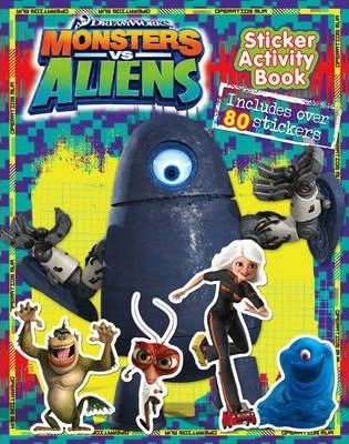 """Monsters vs Aliens"" - Sticker Activity Book"