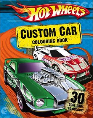 Custom Car Colouring Book