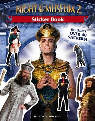 """""""Night at the Museum 2"""" - Sticker Book"""
