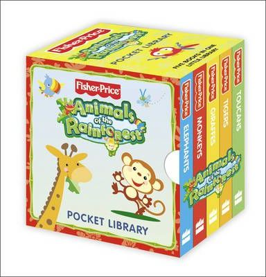 Fisher-Price Animals of the Rain Forest - Pocket Library
