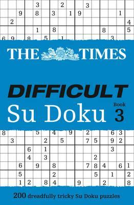 The Times Difficult Su Doku Book 3