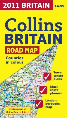 2011 Collins Map of Britain