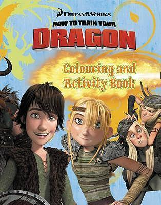 """How to Train Your Dragon"" - Colouring and Activity Book"
