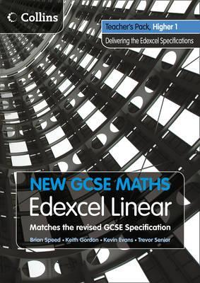 New GCSE Maths: Teacher's Pack Higher 1: Edexcel Linear (A)