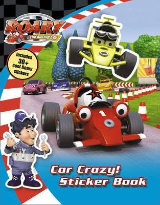 Roary: Car Crazy Sticker Book