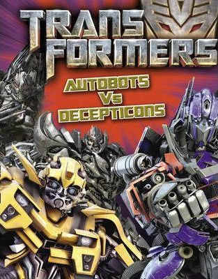 Autobots vs Decepticons Bumper Activity Book