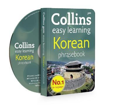Collins Easy Learning Korean Phrasebook and CD Pack
