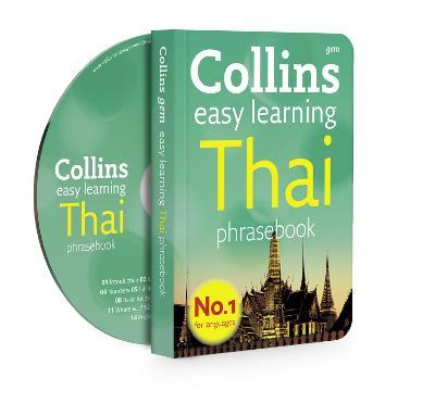 Collins Easy Learning Thai Phrasebook and CD Pack