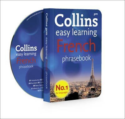 Collins French Phrasebook and CD Pack