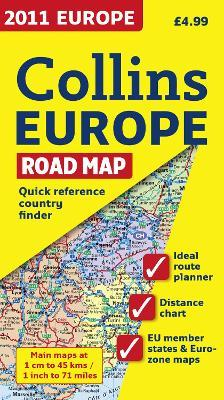 2011 Collins Map of Europe