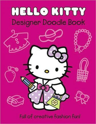 Hello Kitty Designer Doodle Book: Part 1