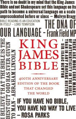 Holy Bible: King James Version (KJV) 400th Anniversary Edition