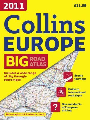 2011 Collins Road Atlas Europe