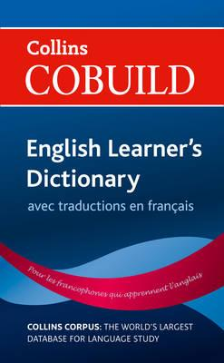 Collins Cobuild English Learner's Dictionary with French