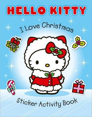 I Love Christmas Sticker Activity Book