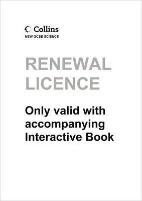 Science VLE Online Renewal Licence