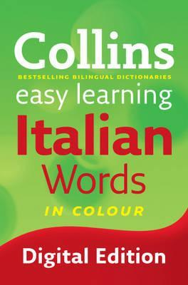 Collins Easy Learning Italian: Easy Learning Italian Words