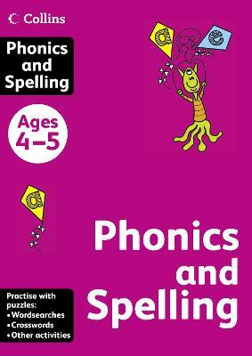 Collins Practice: Collins Phonics and Spelling: Ages 4-5
