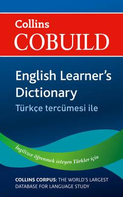 Collins Cobuild English Learner's Dictionary with Turkish
