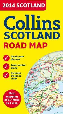 2014 Collins Map of Scotland