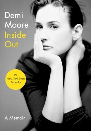 front cover of memoir Inside Out by Demi Moore