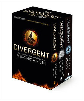 Divergent Trilogy: Divergent Trilogy boxed Set Books 1-3