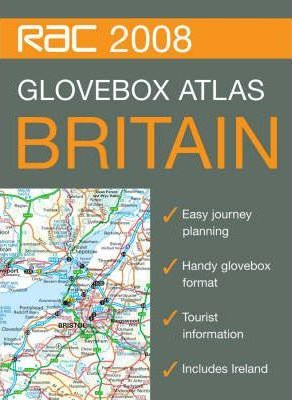 RAC Glovebox Road Atlas Britain