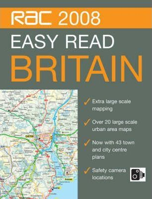 RAC Easy Read Road Atlas Britain