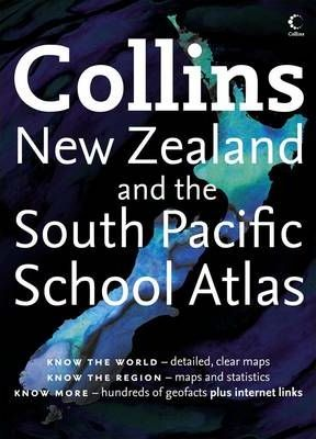Collins School Atlas for New Zealand and the South Pacific