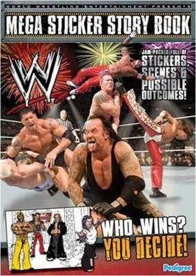 WWE Mega Sticker Storybook
