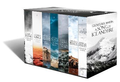 A Song of Ice and Fire: A Game of Thrones: The Story Continues: The Complete Boxset of All 7 Books