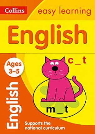 English Ages 3-5