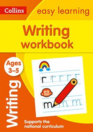 Writing Workbook Ages 3-5 Cover Image